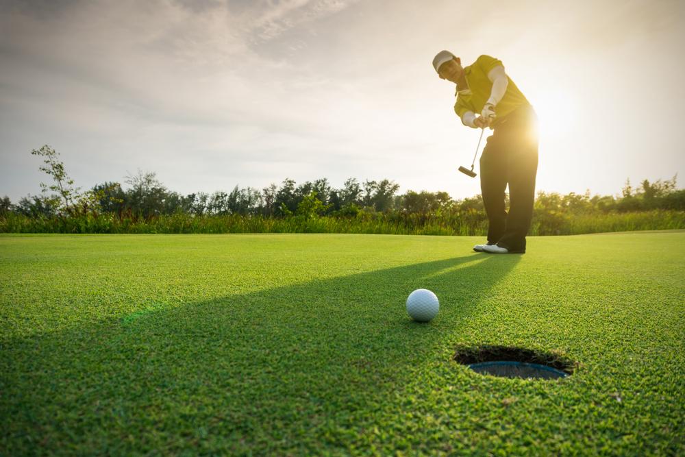 golfen an der adria